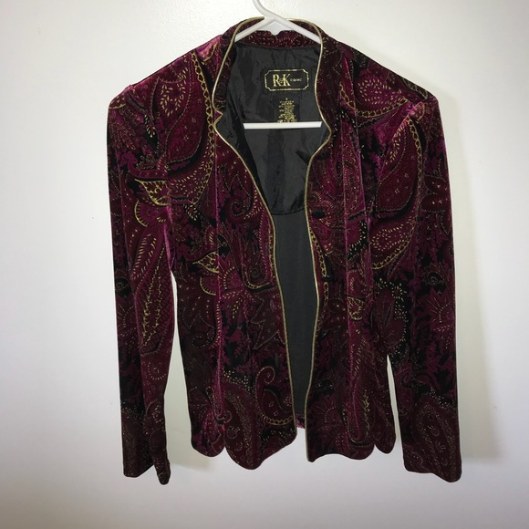 Burgundy Evening Jackets